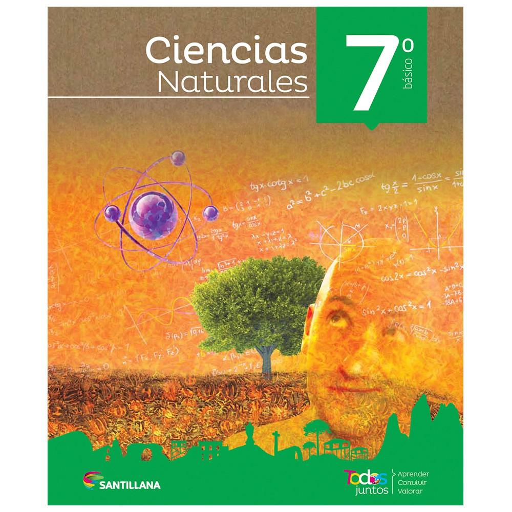 Pack ciencias naturales 7° básico todos juntos santillana