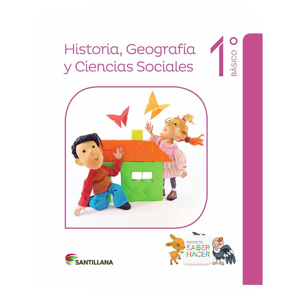 Historia, geografía y ciencias sociales 1° básico saber hacer
