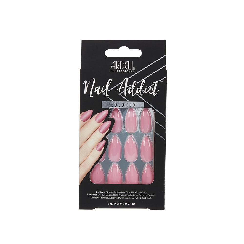 Uñas postizas addict luscious pink
