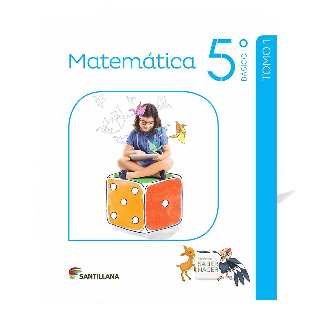 Pack matemáticas 5° básico saber hacer