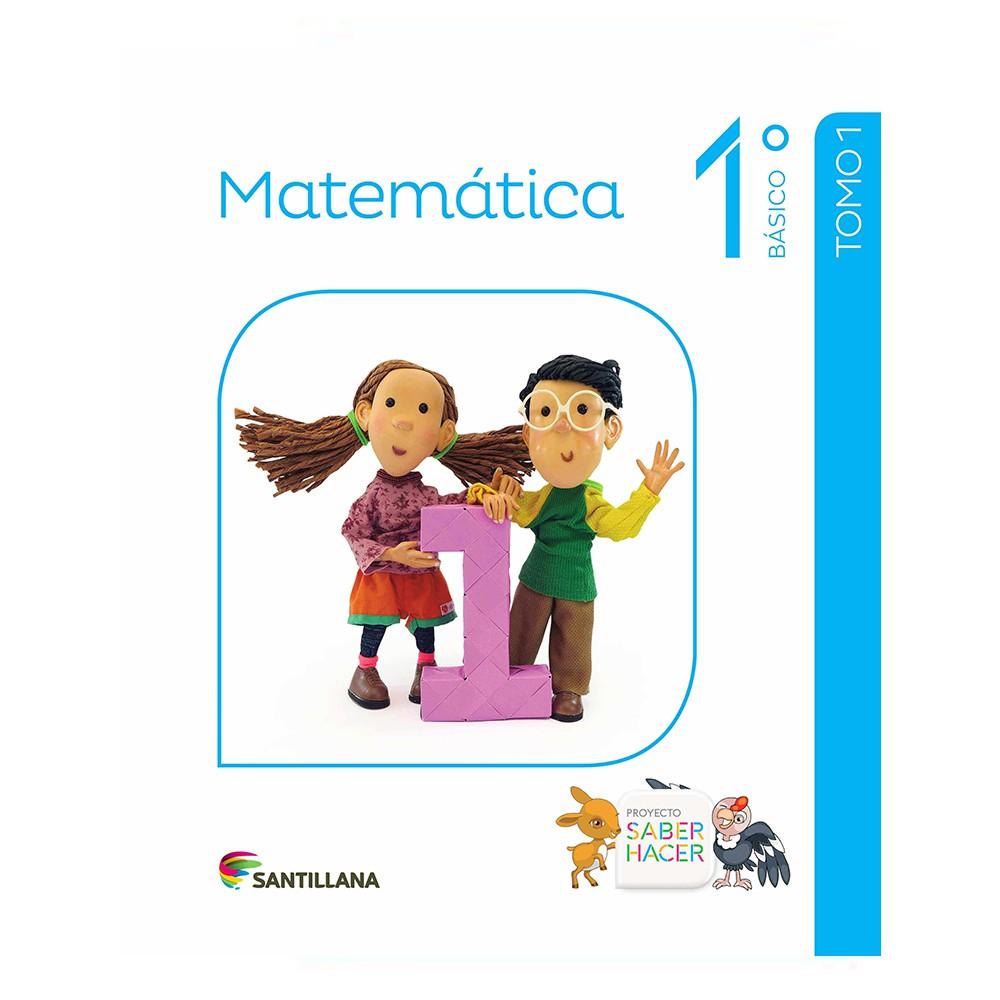 Pack matemáticas 1° básico saber hacer santillana