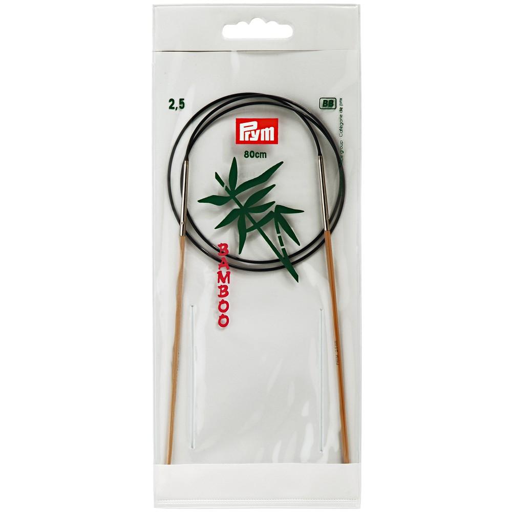 Palillos circulares bambú Nº 2,5