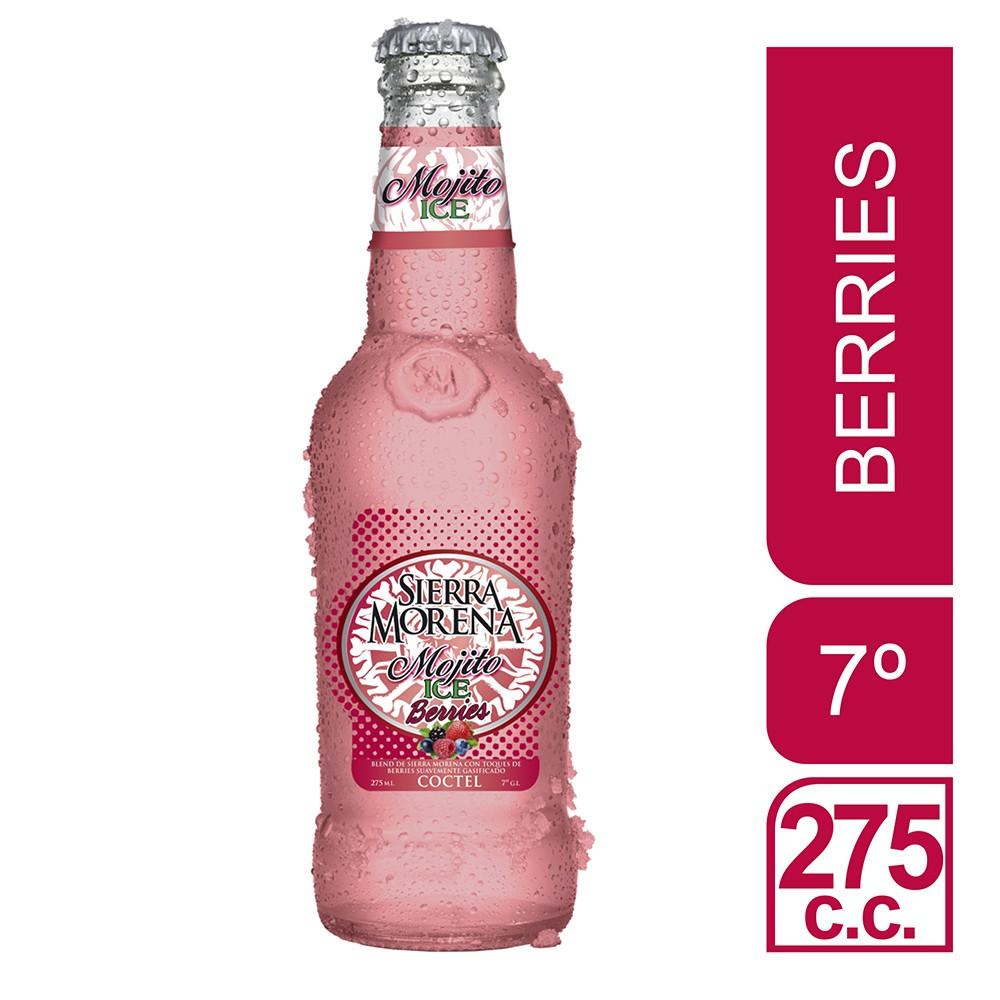 Cóctel mojito ice berries 7°