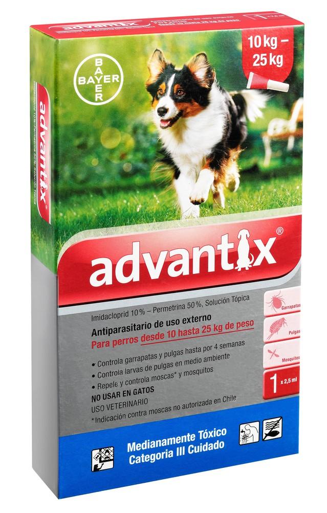 Pipeta antipulgas para perro 2,5 ml