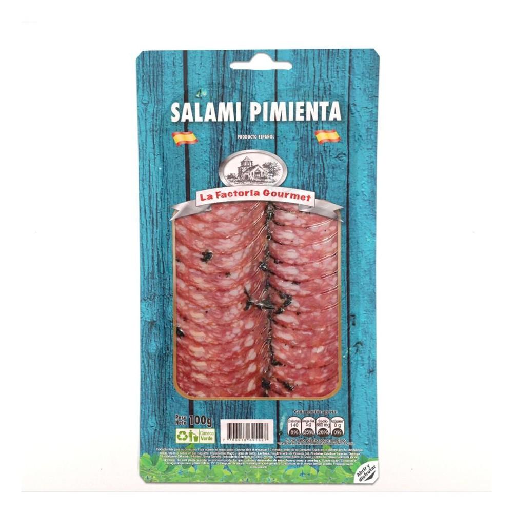 Salami pimienta gourmet