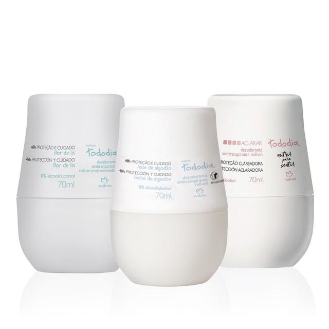 Trio variedades desodorantes tododia