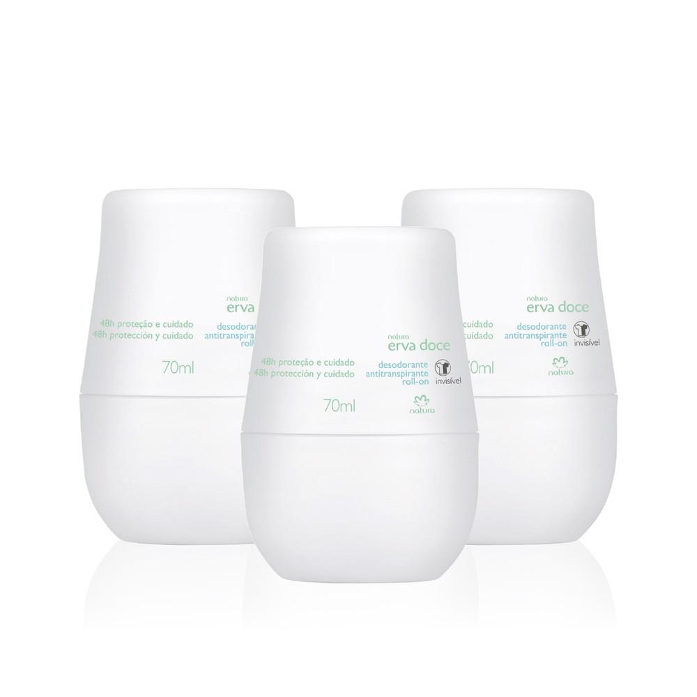 Trio desodorante erva doce