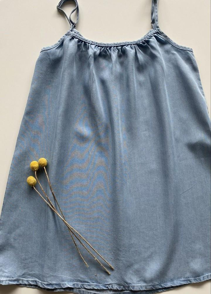 Vestido de blue jeans