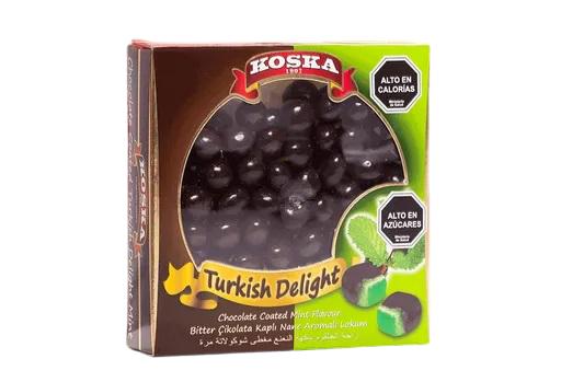 Delicias turcas menta con chocolate 220 gr.