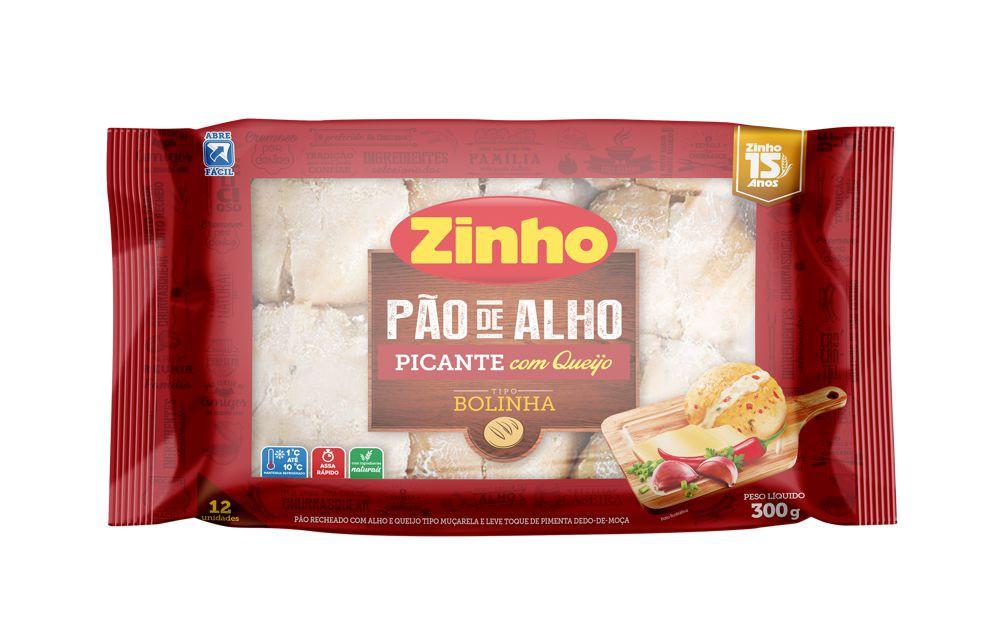 Pão de alho baguete picante