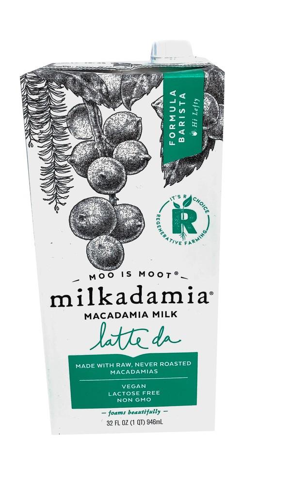 Macadamia milk