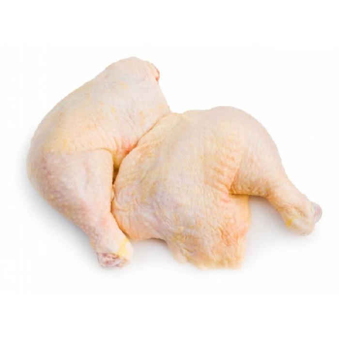 Pernil de pollo con piel