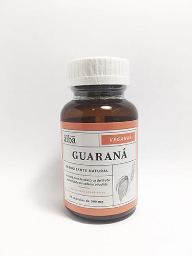 Cápsulas de guaraná