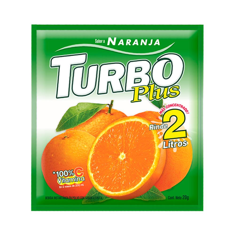 Turbo plus naranja (sin gluten)