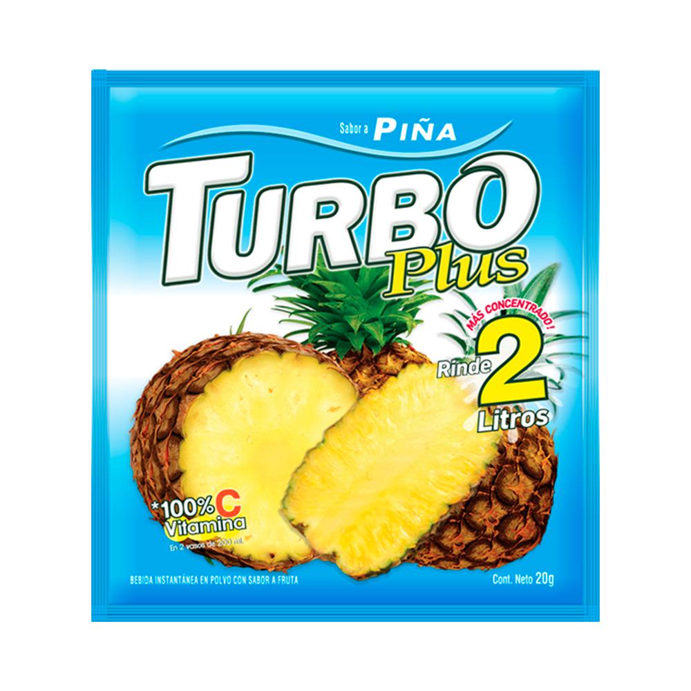 Turbo plus piña (sin gluten)