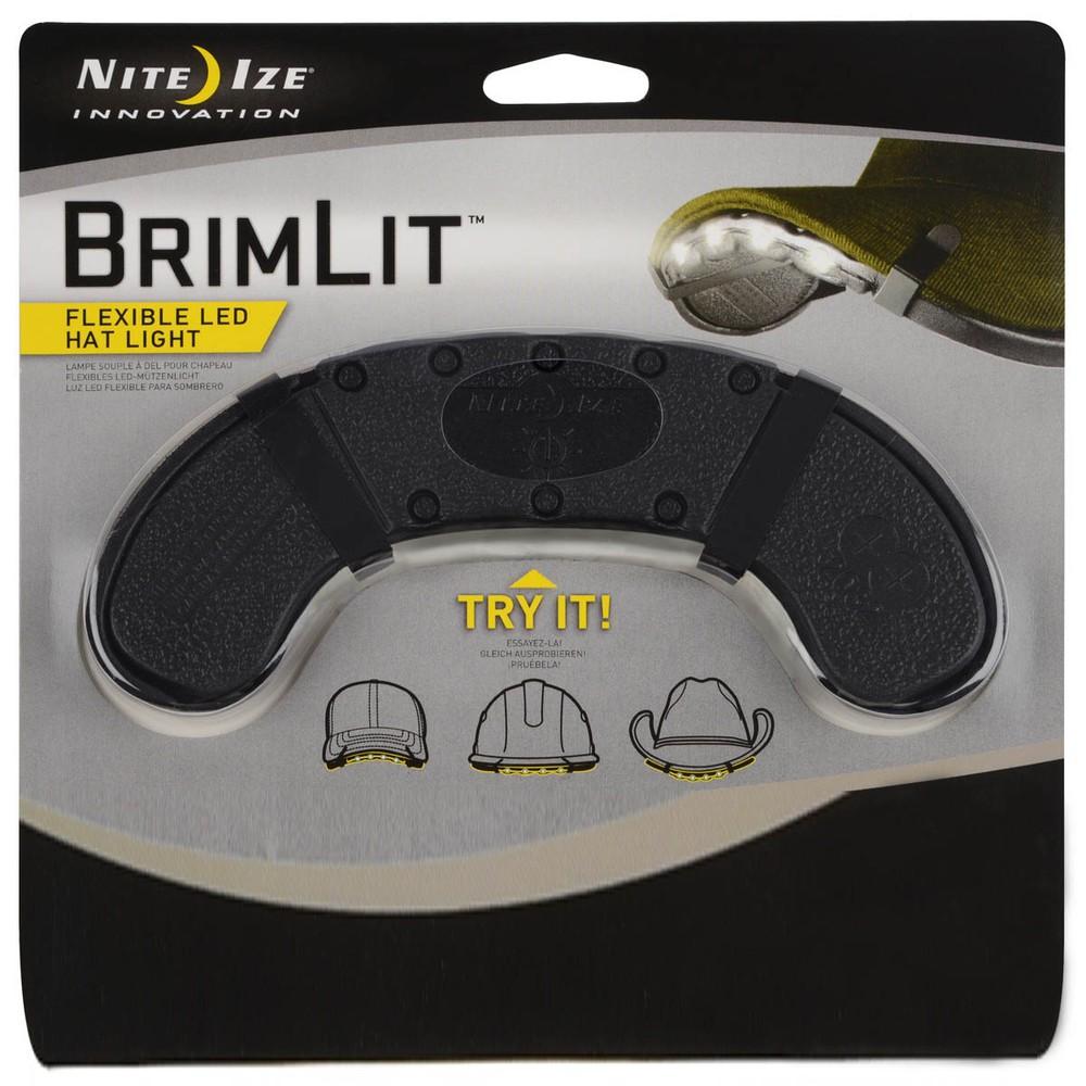 Brimlit luz de visera de jockey / casco