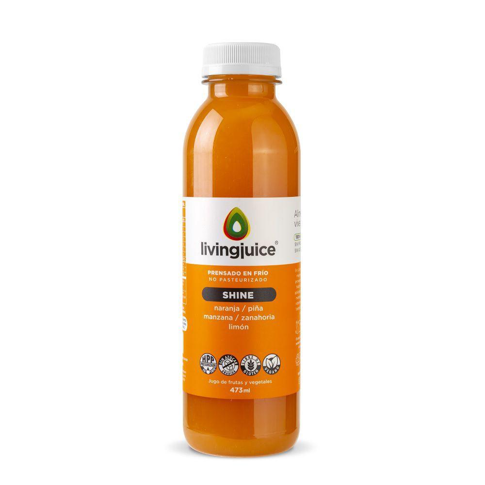 Jugo Shine naranja-piña-manzana
