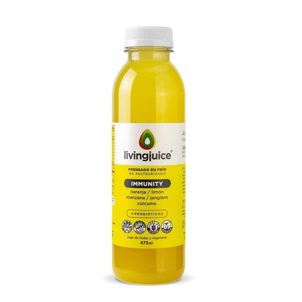 Jugo Immunity naranja-limón-manzana