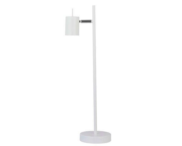 Lámpara escritorio 1 luz silo blanco gu10 máx 50w