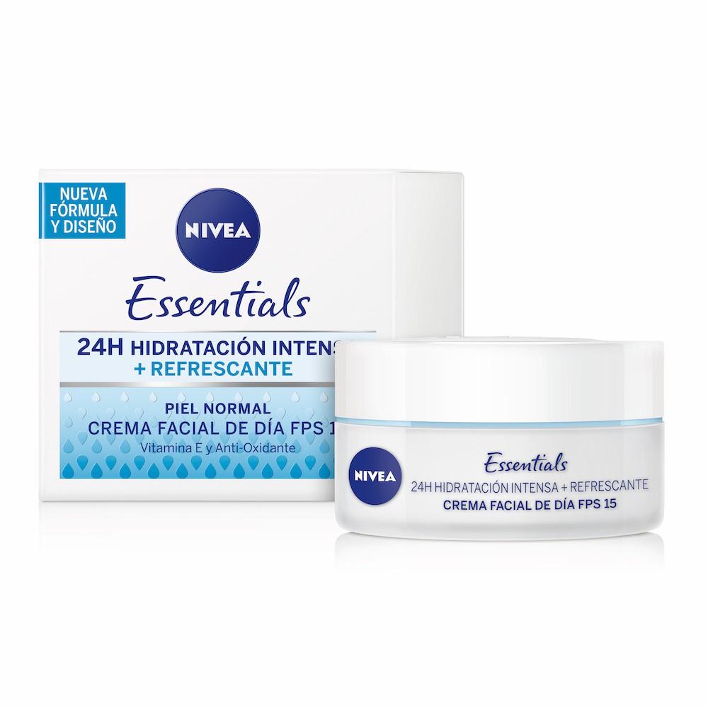 Crema facial hidratante piel normal y mixta