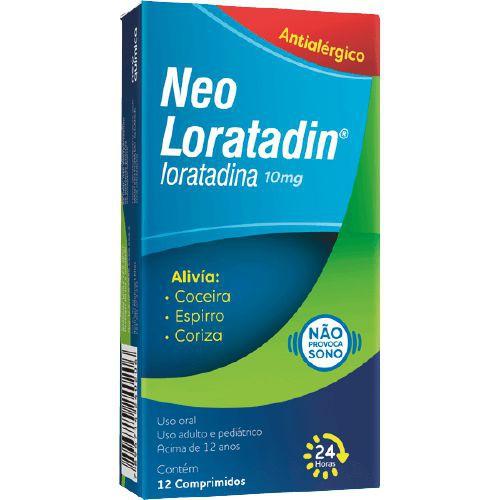 Antialérgico Neo Loratadin 10mg