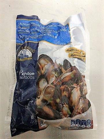 Chorito Entero Natural (Mejillones) 500 gr