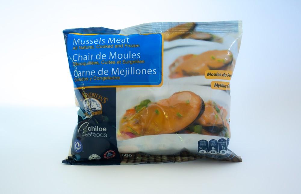 Choritos Carne (Mejillones) 500 gr