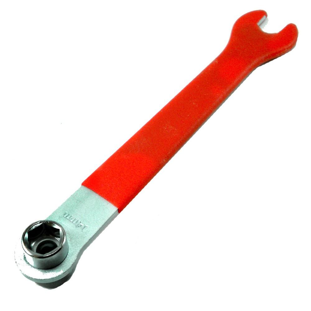 Llave de Pedal / Rueda Acero 14mm y 15mm