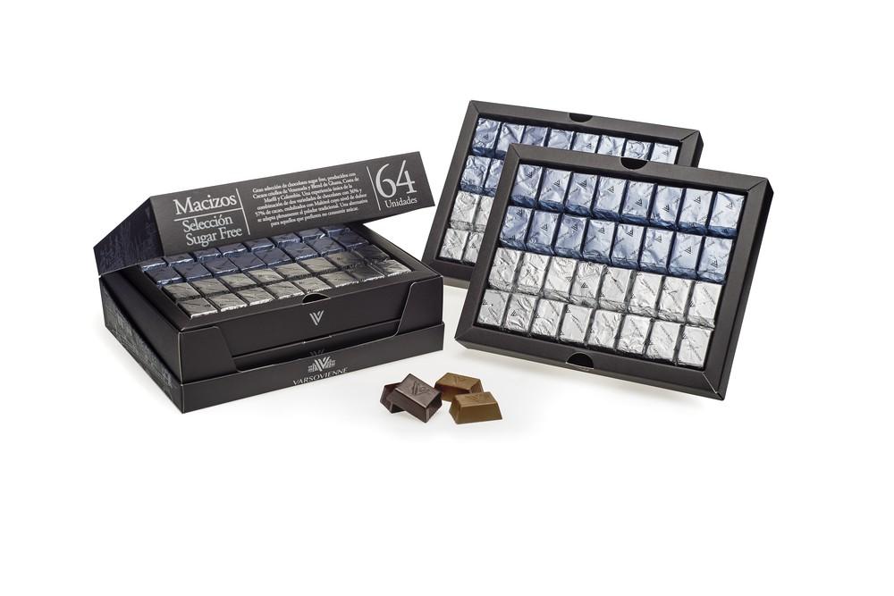 Chocolates Selección sin azúcar, 440 grs Caja