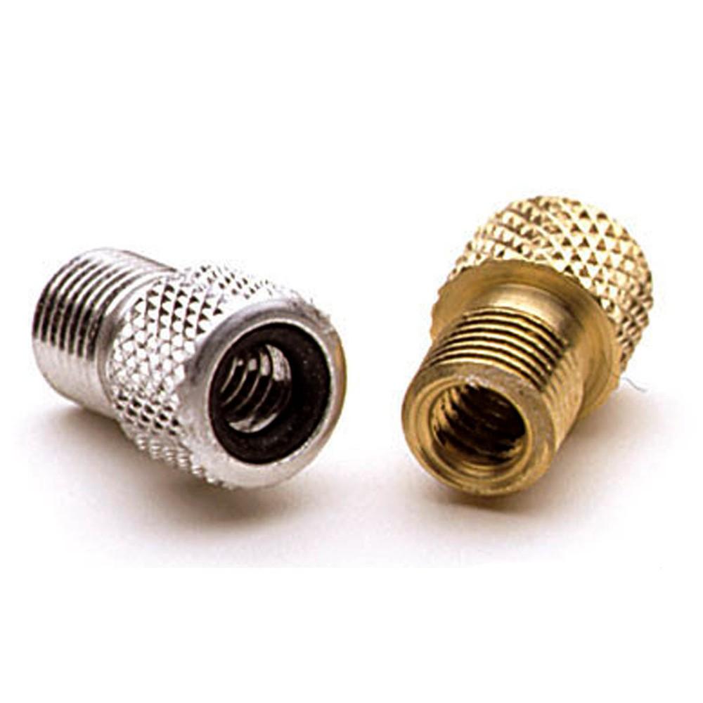 Adaptador de Válvula Presta / Auto con Retención de Aire