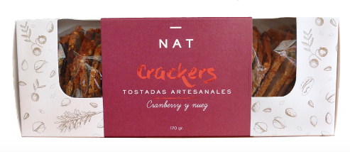 Cranberries y nuez