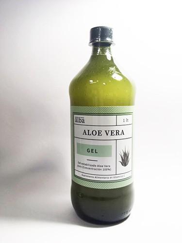 Aloe vera gel Botella 1 L