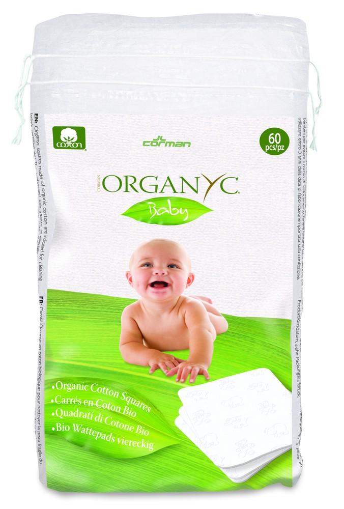 Cuadrado algodón orgánico 60 u.