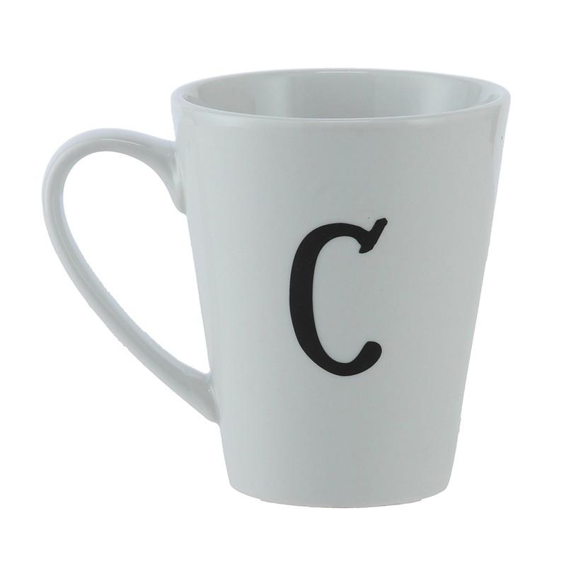 Mug C Ancho: 16 cm   Largo: 9 cm   Alto: 11 cm