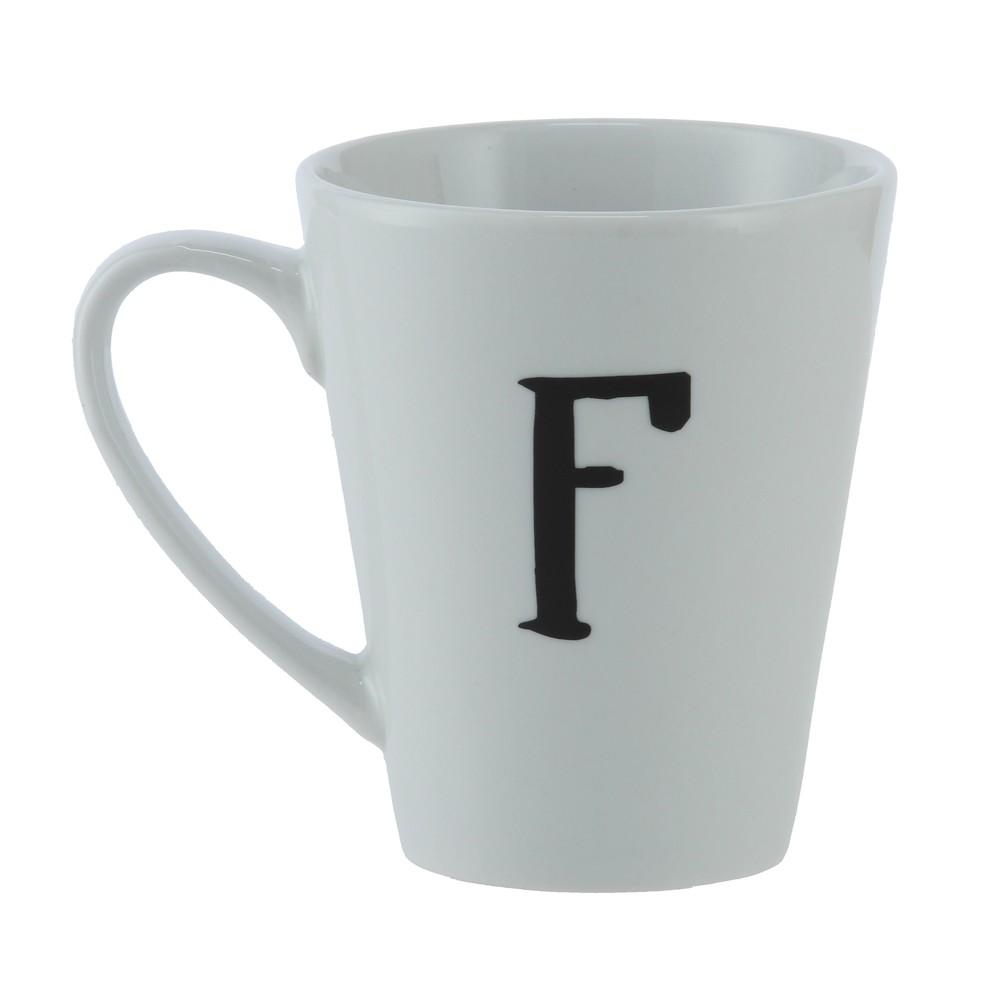 Mug F Ancho: 16 cm   Largo: 9 cm   Alto: 11 cm