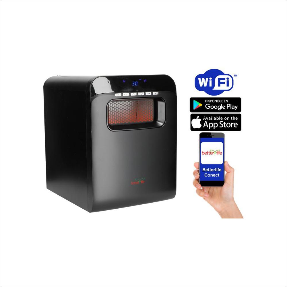 Estufa infrarroja wi-fi 60 m2 1500 W