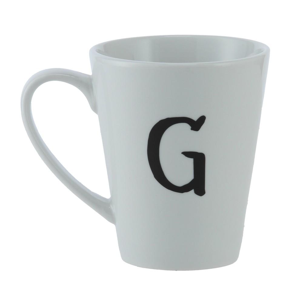 Mug G Ancho: 16 cm   Largo: 9 cm   Alto: 11 cm