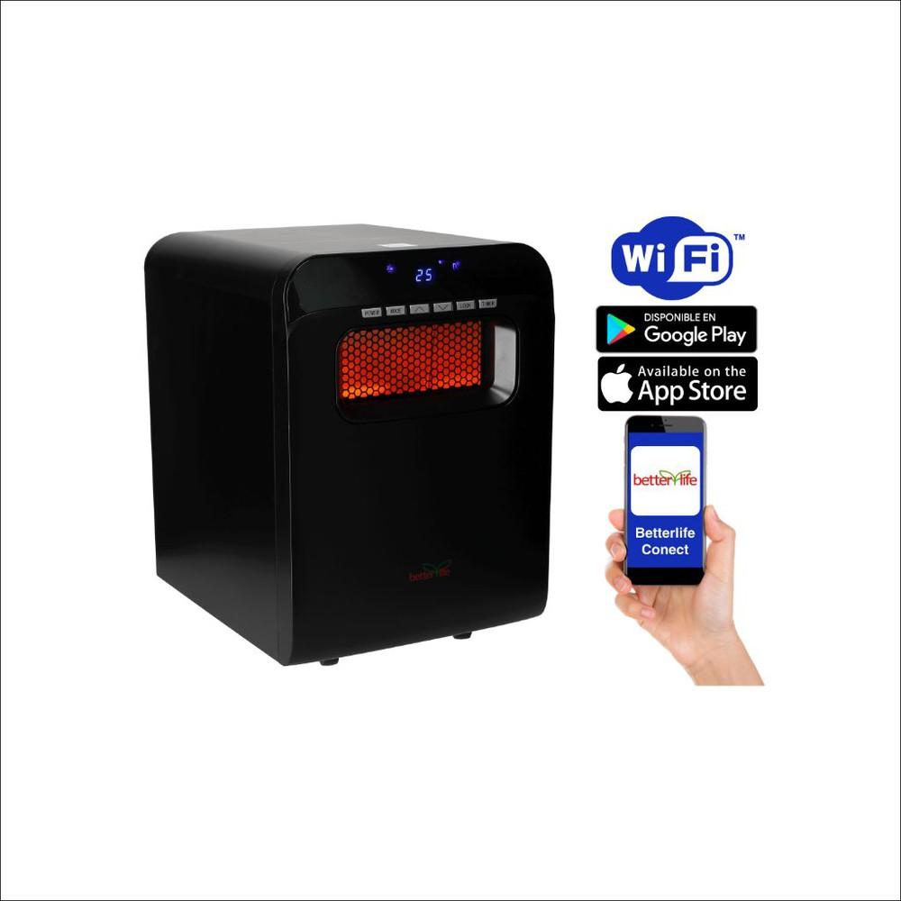Estufa infrarroja wi-fi 80 m2 2000 W