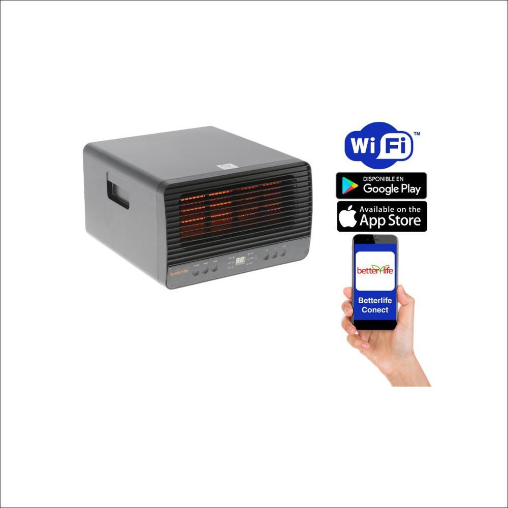 Estufa infrarroja wi-fi 45 m2 1500 W