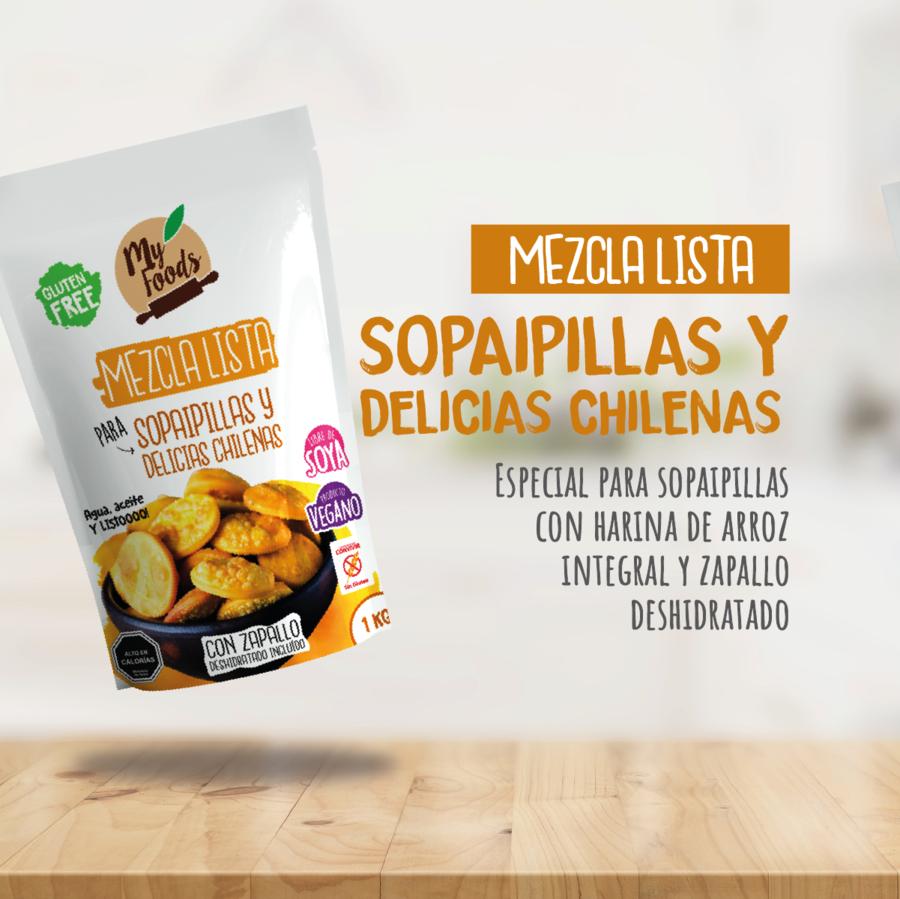 Mezcla lista sopaipilla y delicias chilenas