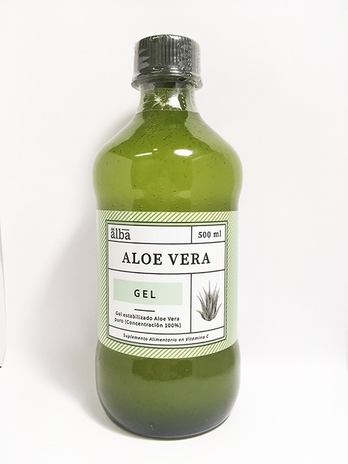 Aloe vera gel Frasco 500 ml