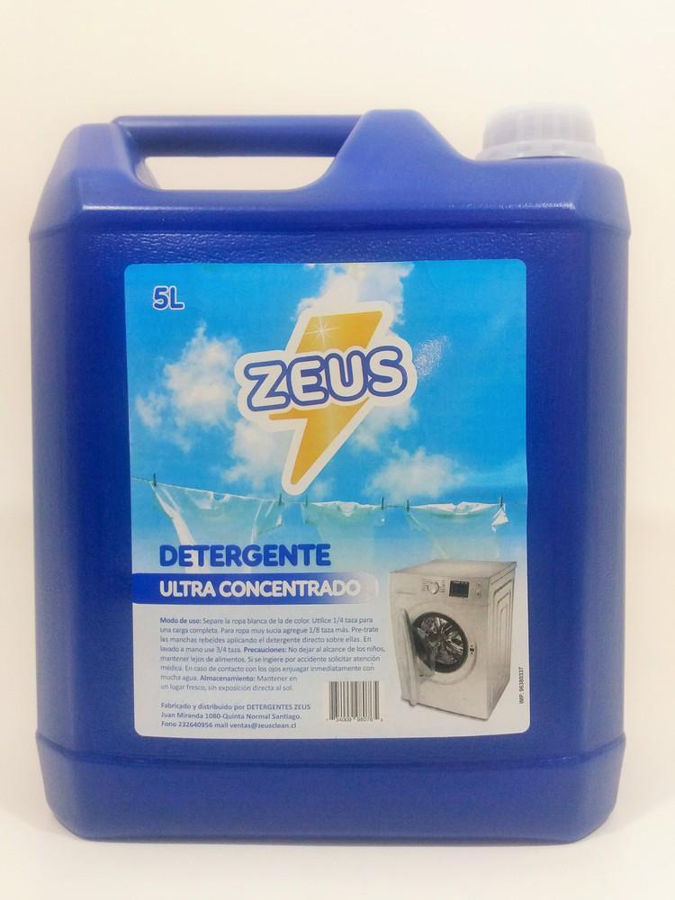 Detergente ultra concentrado azul Bidón 5 lt.