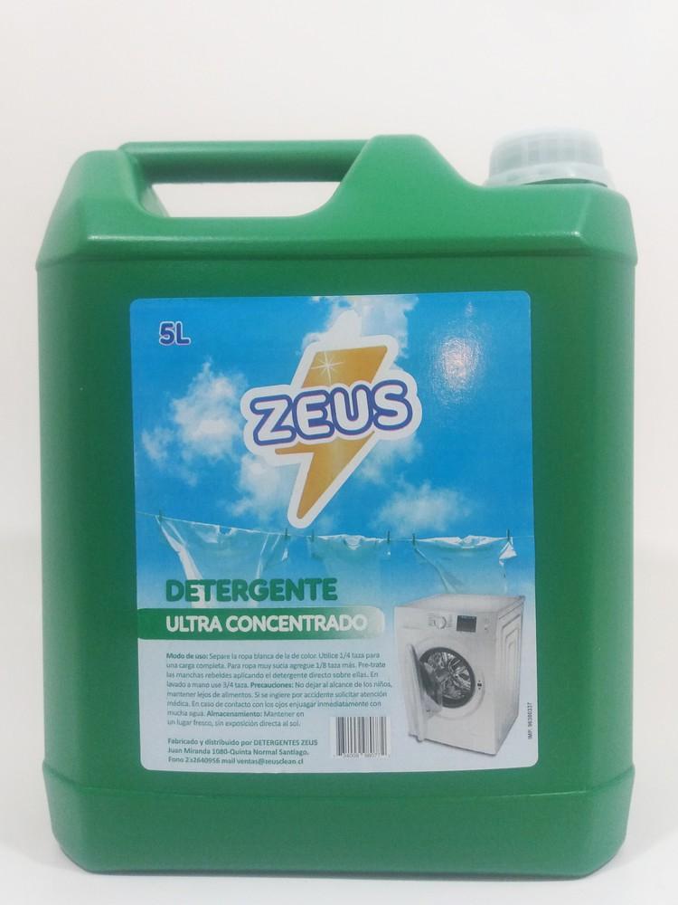 Detergente ultra concentrado verde Bidón 5 lt.