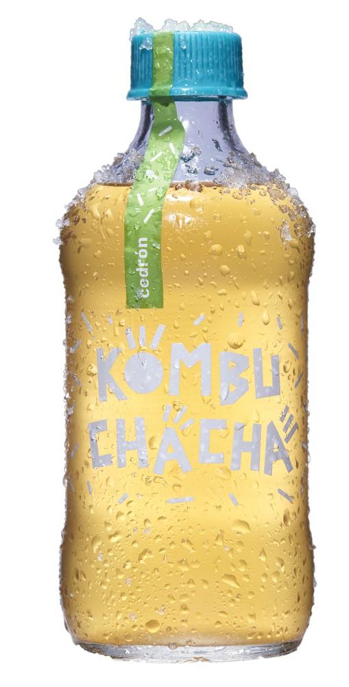 Kombucha cedrón Botella 500 ml