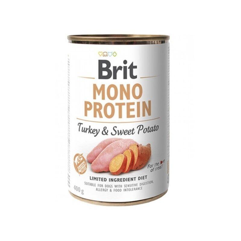 Brit mono protein turkey and sweet potato