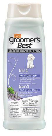 Groomer's Best dog shampoo lavender & mint