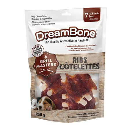 Grill Masters ribs chews for dogs