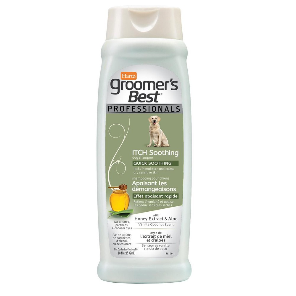 Groomer's Best itch soothing dog shampoo
