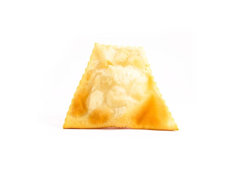 Empanada frita queso champiñón
