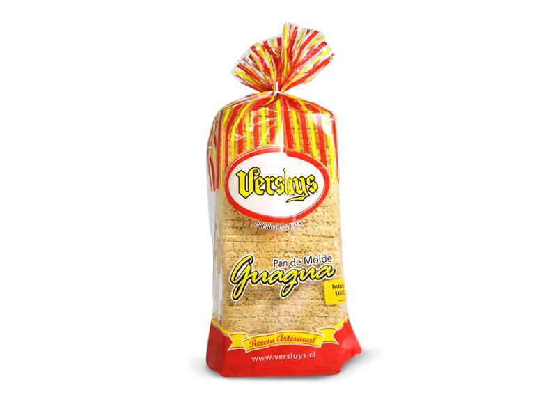 Pan molde guagua integral 1800 g